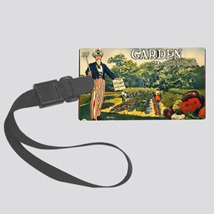 garden 1917 Large Luggage Tag