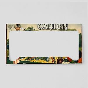 garden 1917 License Plate Holder