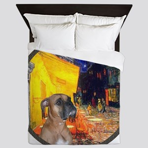 R-Cafe - Boxer (D) Queen Duvet
