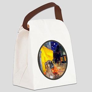 R-Cafe - Boxer (D) Canvas Lunch Bag