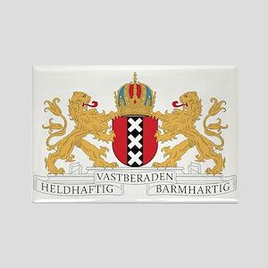 amsterdam_city_coa1 Rectangle Magnet