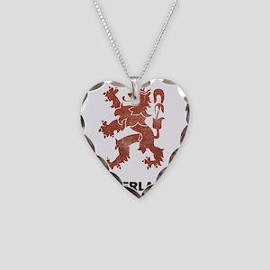 vintageNetherlands4 Necklace Heart Charm
