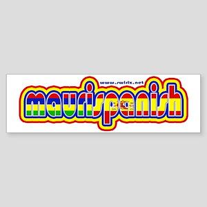 maurispanish Sticker (Bumper)