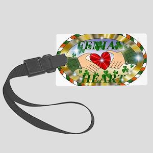 FENIAN HEART Large Luggage Tag