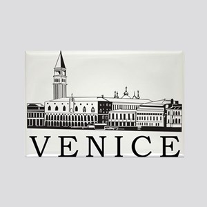 venice1 Rectangle Magnet