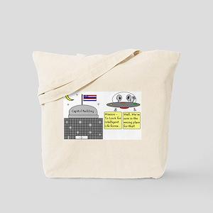 Alien Sighting Tote Bag
