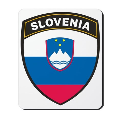 BlackShieldSlovenia1 Mousepad