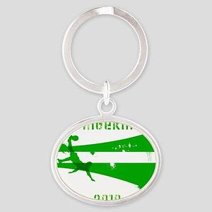 Nigeria copy Oval Keychain