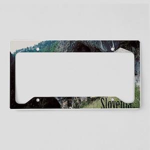 slovenia1 License Plate Holder