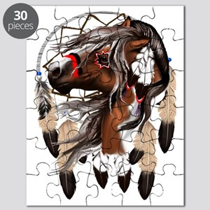Paint Horse Dreamcathcer Trans Puzzle