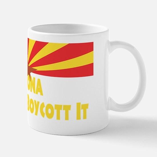 ARIZONA LOVE IT OR BOYCOTT IT Mug