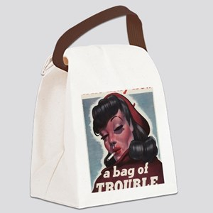 Bag of Trouble Canvas Lunch Bag