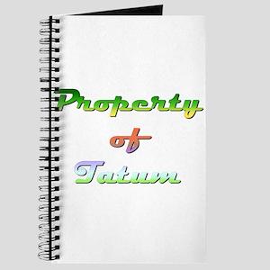 Property Of Tatum Female Journal