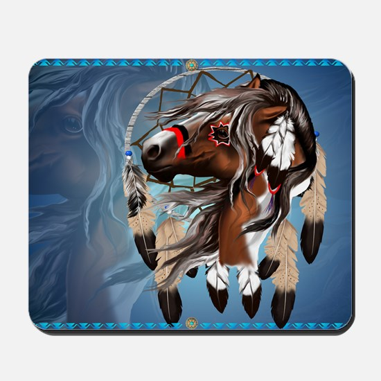 Paint Horse Dreamcatcher-Yardsign Mousepad