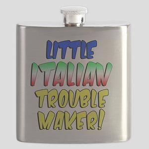 Little Italian Trouble Maker Flask