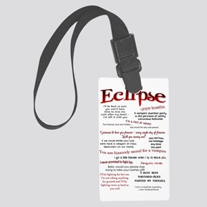 eclipse - journal Large Luggage Tag