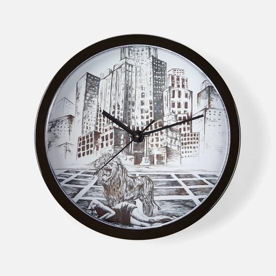 Rise Between Us 2 Wall Clock