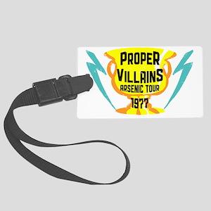 propervillains Large Luggage Tag