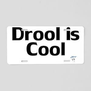 DroolisCool Aluminum License Plate