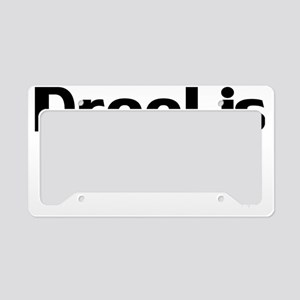 DroolisCool License Plate Holder