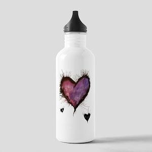 Purple Hearts 2 Stainless Water Bottle 1.0L