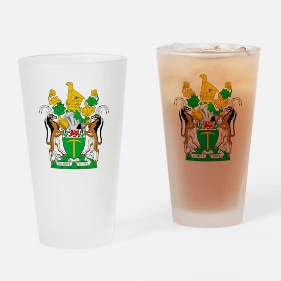 Rhodesia 4 neg Drinking Glass