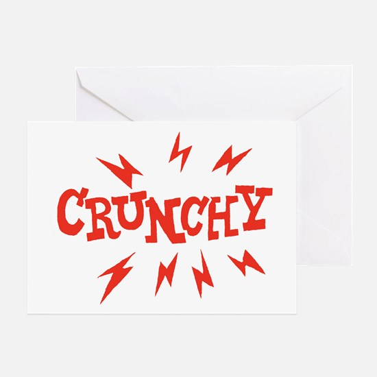 crunchy_reverse Greeting Card