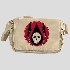 oil_skull_with_reapers02 Messenger Bag