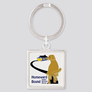 HBGRR-logo new larger Square Keychain