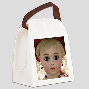mousepad_circledotbru_no4 Canvas Lunch Bag