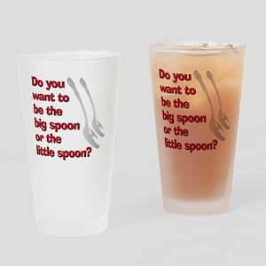 spoon Drinking Glass