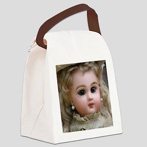 mousepad_tete_jumeau_35 Canvas Lunch Bag
