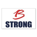 B Strong Sticker