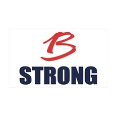 B Strong Wall Decal