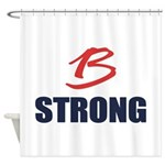 B Strong Shower Curtain