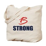 B Strong Tote Bag