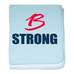 B Strong baby blanket