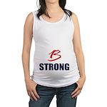 B Strong Maternity Tank Top