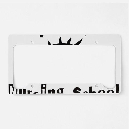 Nurse_-_I_will_survive_Nursin License Plate Holder