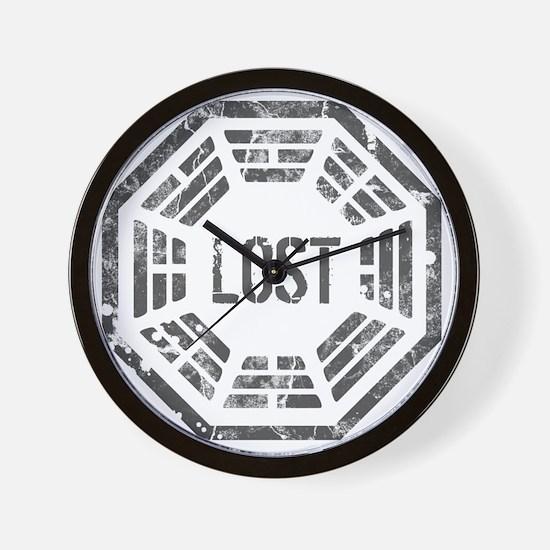 DharmaGrunge2 Wall Clock