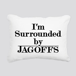 Jagoffs Rectangular Canvas Pillow
