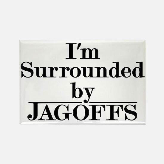 Jagoffs Rectangle Magnet