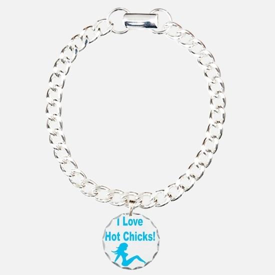 I Love Hot Chicks - Boys Bracelet