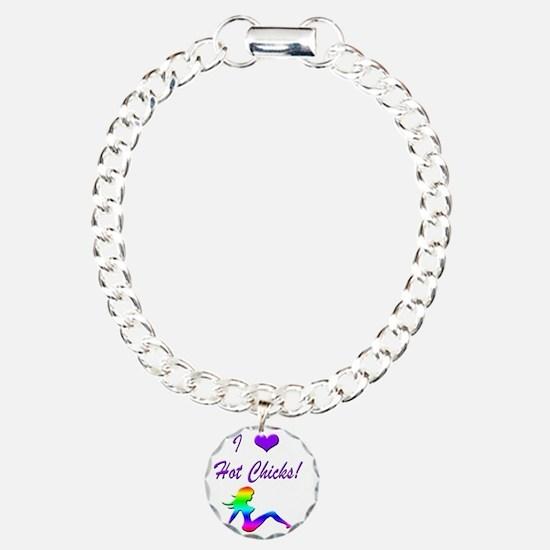 I Love Hot Chicks - Girl Bracelet