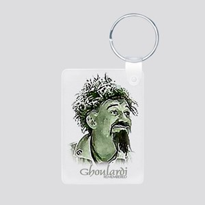GhoulardiRemembered Aluminum Photo Keychain