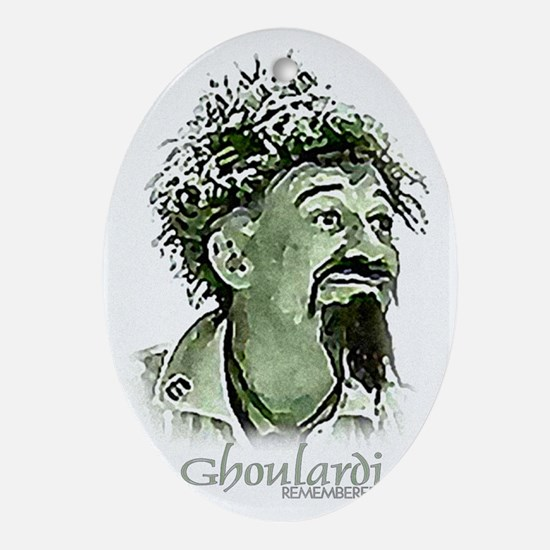 GhoulardiRemembered Oval Ornament