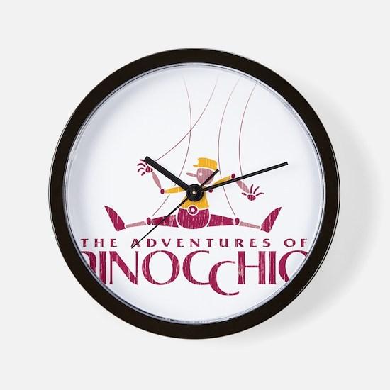 YTN_Pinocchio_tshirt_Front Wall Clock
