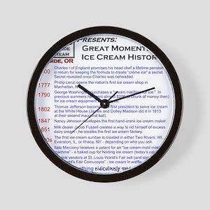 2-10x10 2010 history td Wall Clock