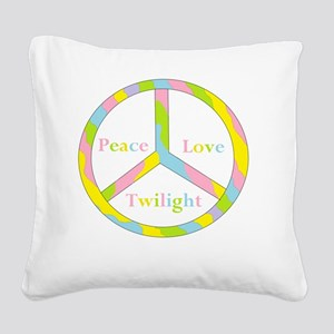 aaaaapeactwilightpeacehuge Square Canvas Pillow