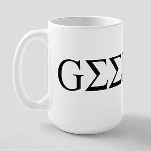 Greek Geek Large Mug